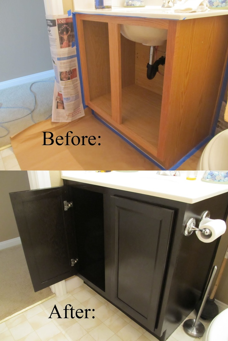 staining bathroom cabinets top 10 best diy bathroom projects top inspired 26580