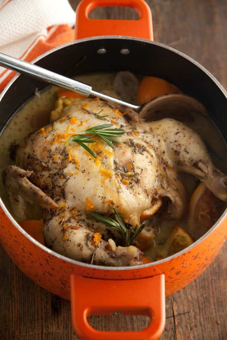 Paula Deen Slow Cooker Orange Rosemary Chicken