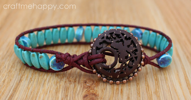 Boho-blueberry-cove-beads-bracelet