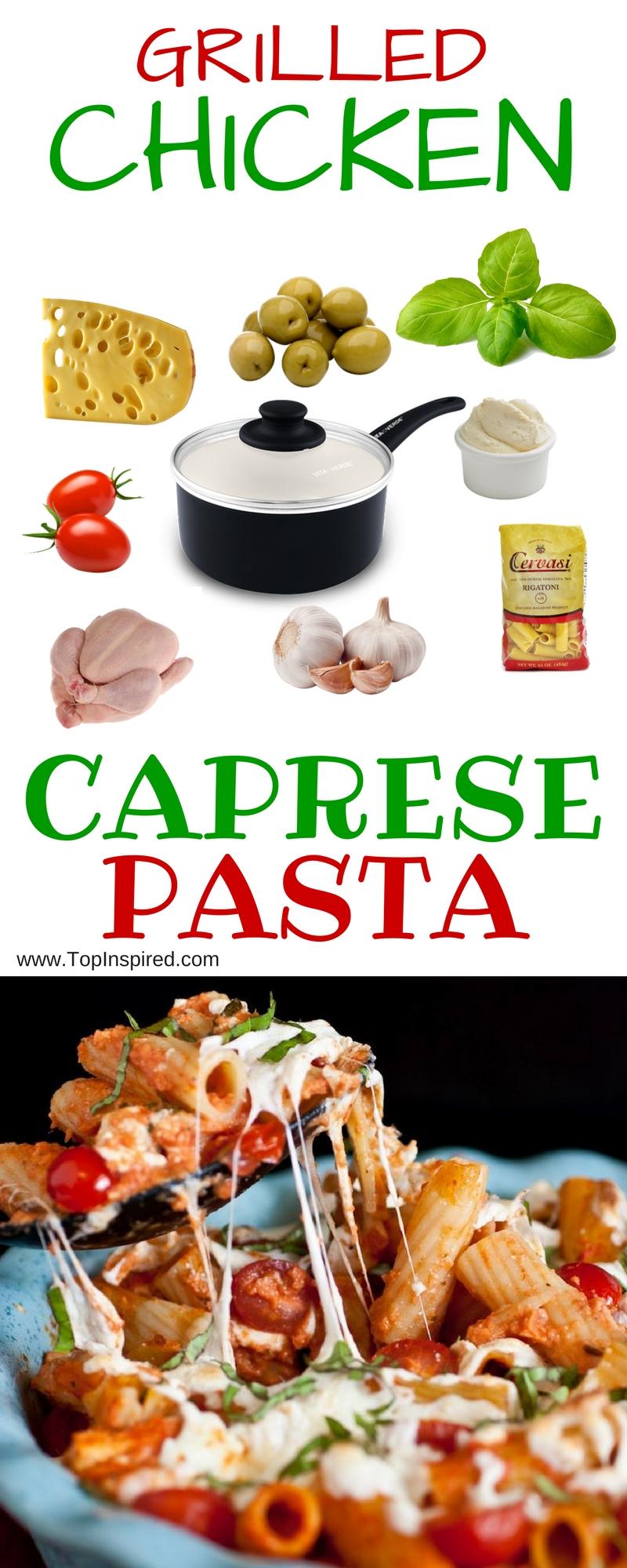 Caprese-Pasta