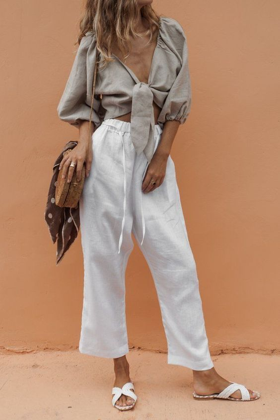 Linen-Pents-and-top-