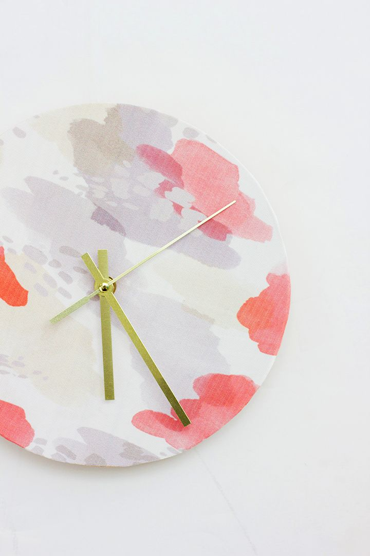 diy-fabric-clock-