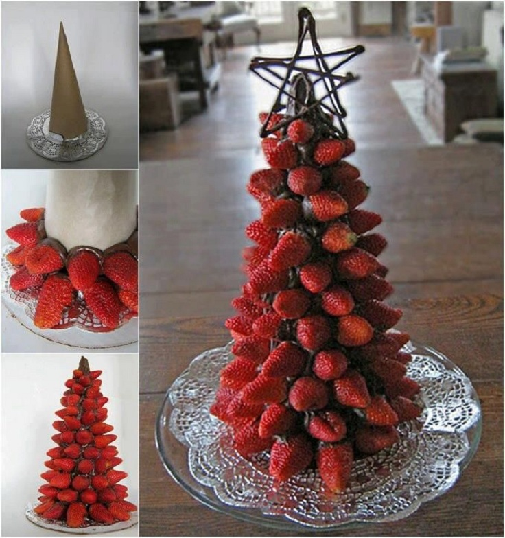 Lovely Food Christmas Decorations Part - 5: TOP 10 Food Decorations
