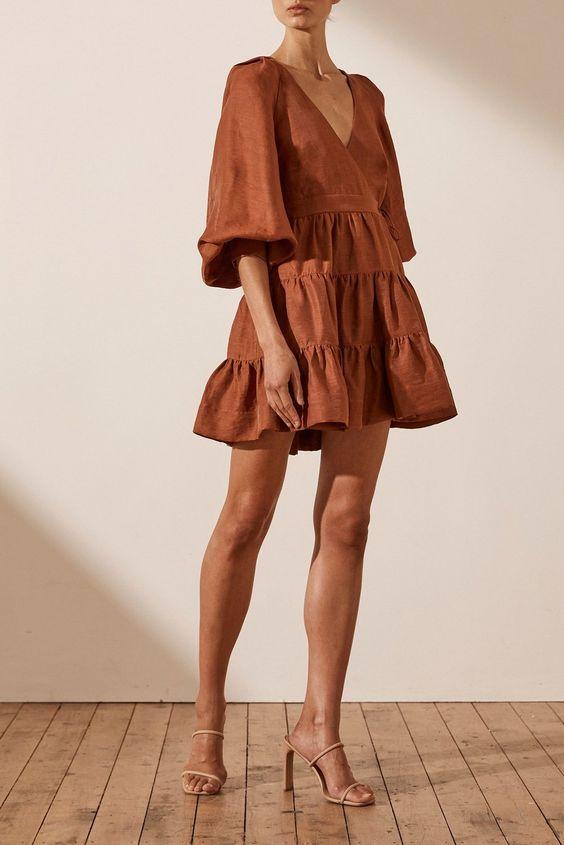gingerbread-wrap-mini-dress-
