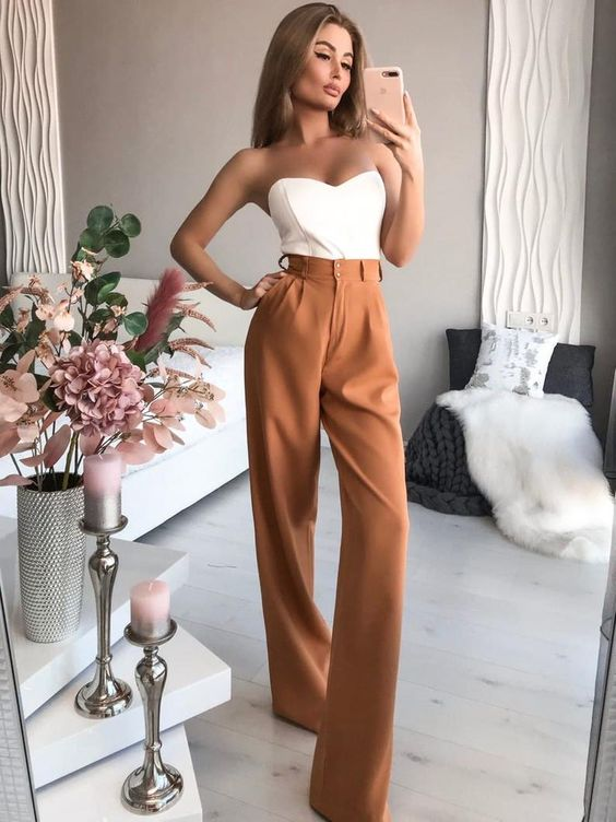 hight-waist-trousers-with-sleveless-top-
