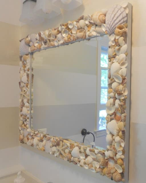 mirror-with-shells-