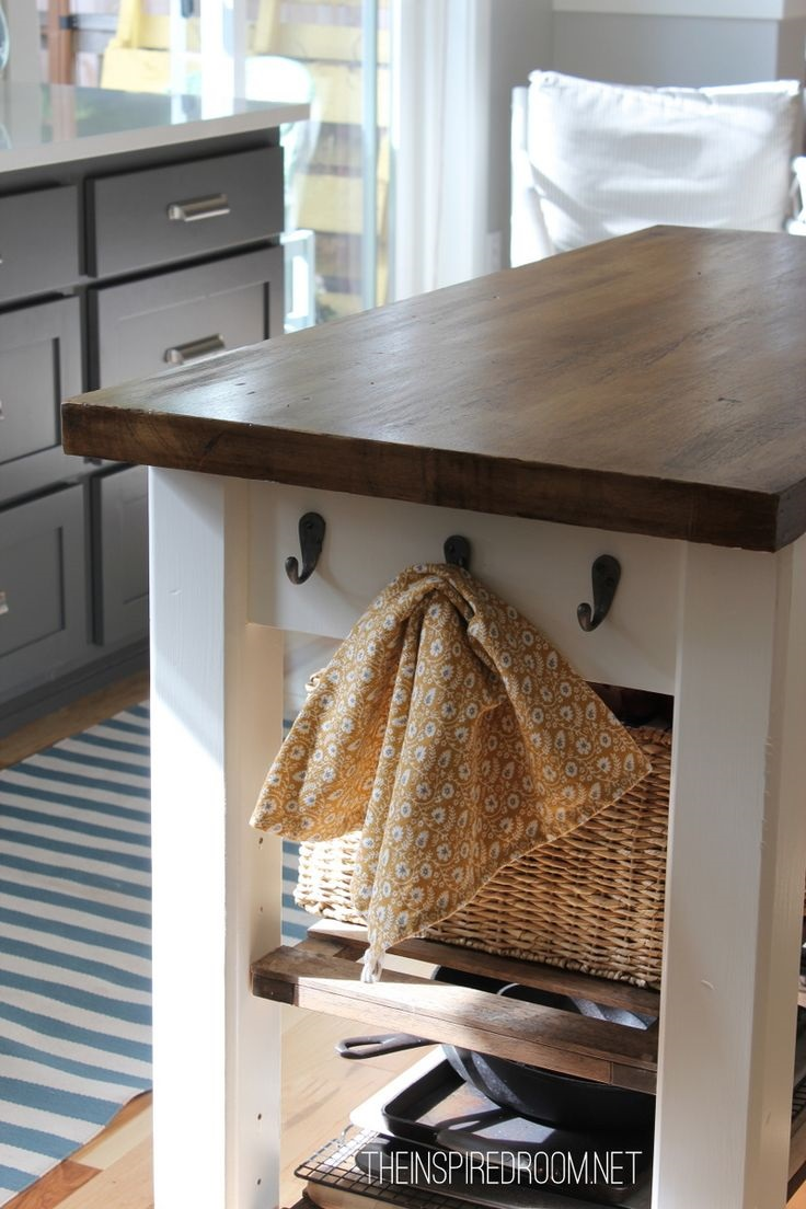 Top 10 diy kitchen islands top inspired for Kitchen ideas diy