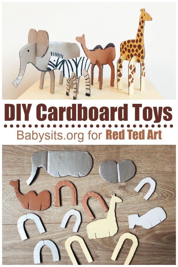 Easy-cardboard-animals