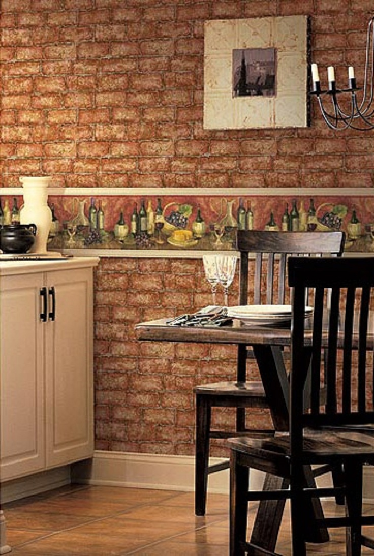 Top 10 wallpapers for your kitchen top inspired - Kitchen ideas with wall ...