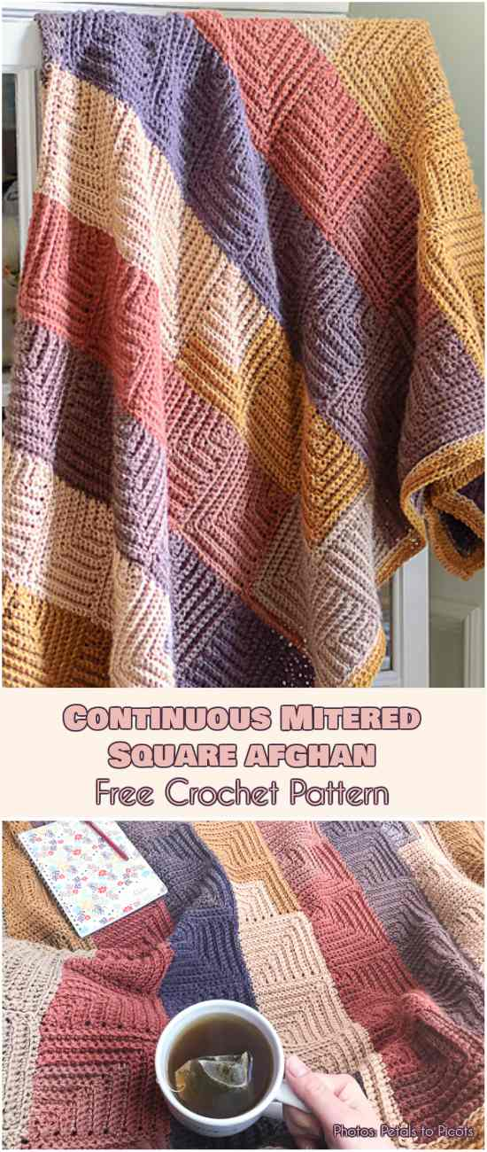 mittered-afghan