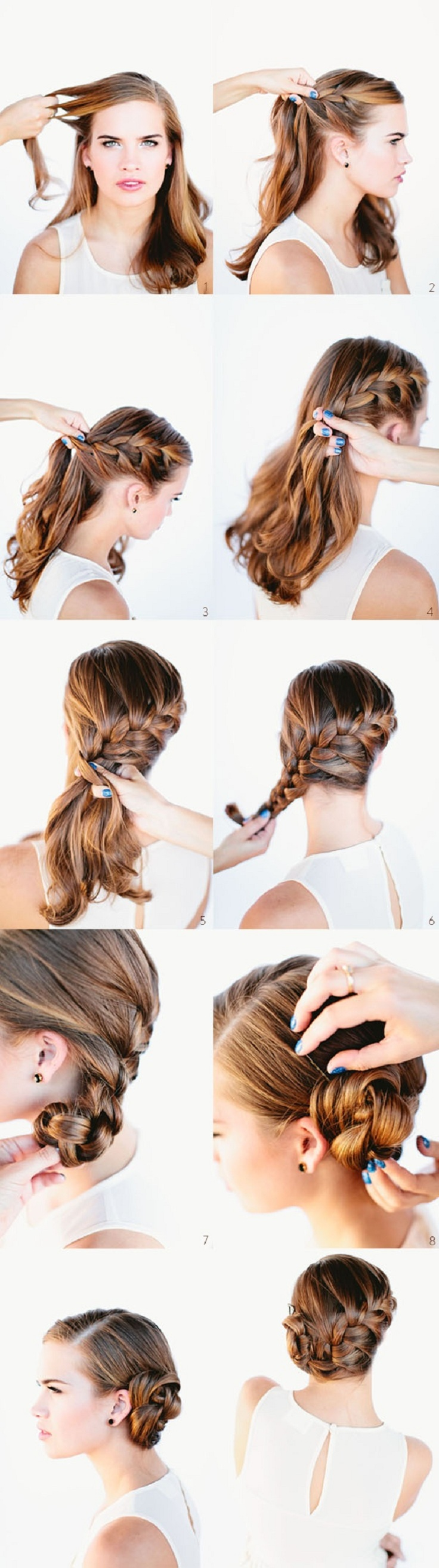 Pleasant 10 Braided Hairstyle Tutorials Crafthubs Short Hairstyles For Black Women Fulllsitofus
