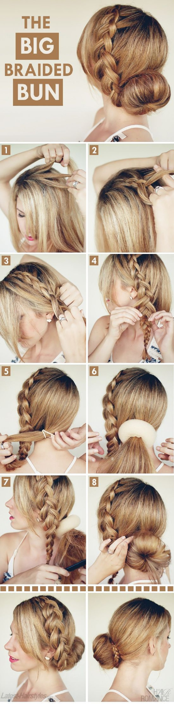 Excellent Top 10 Hair Braid Tutorials Top Inspired Short Hairstyles Gunalazisus