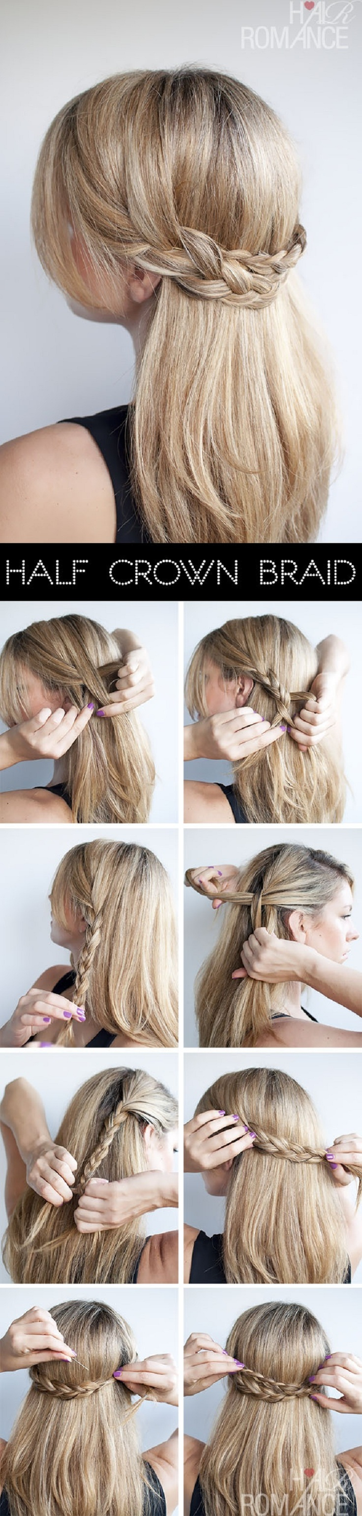 Astonishing Top 10 Hair Braid Tutorials Top Inspired Short Hairstyles Gunalazisus