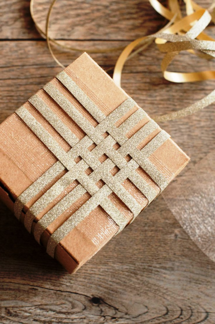 Top 10 beautiful diy brown paper wrapping ideas for How to wrap presents with wrapping paper
