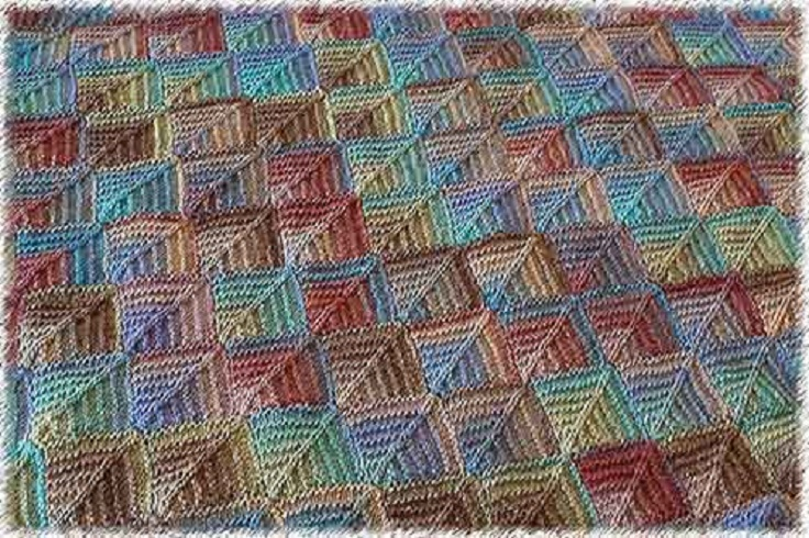 Free Knitting Patterns For Afghan Squares : Top 10 Beautiful DIY Afghans - Top Inspired