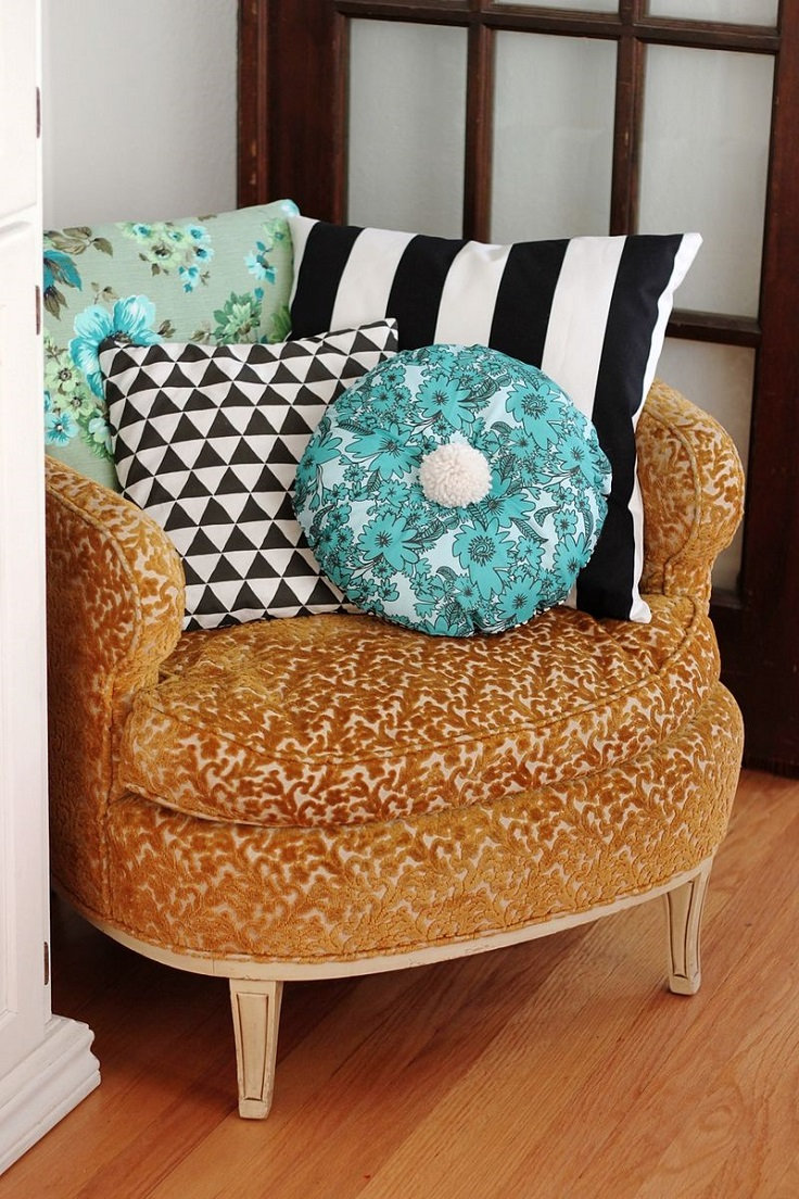 Diy Pillow Decorating Ideas: Top 10 DIY Decorating Pillows Ideas   Top Inspired,
