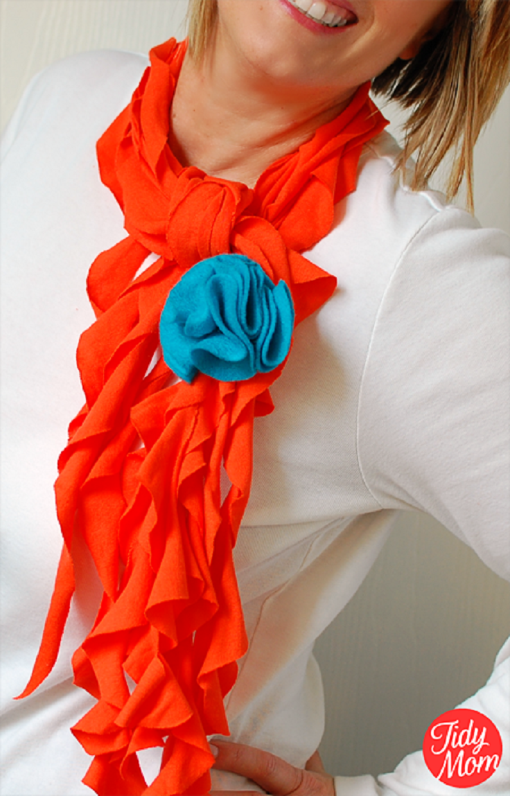 Top 10 Best DIY Scarfs | Top Inspired