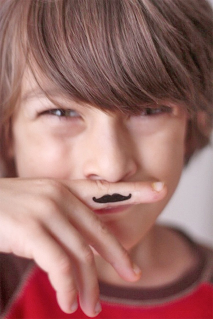 Top 10 diy temporary tattoos top inspired for Mustache temporary tattoos