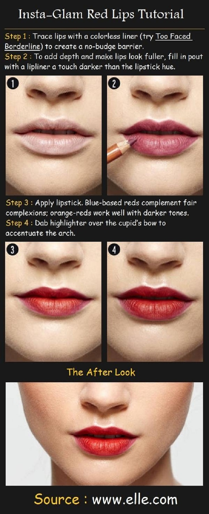 Top 10 tutorials for perfect lipstick top inspired top 10 tutorials for perfect lipstick baditri Image collections