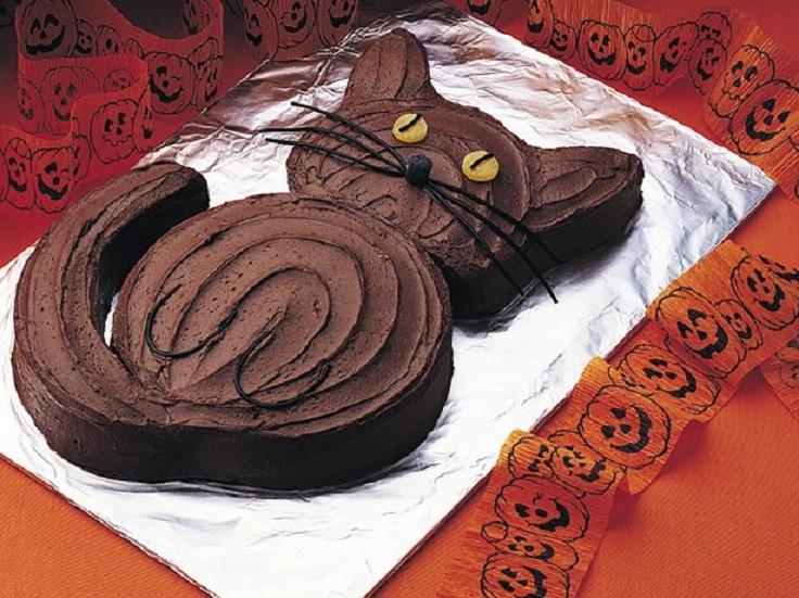 Black Cat Cake Decoration : Top 10 Halloween Cake Ideas - Top Inspired