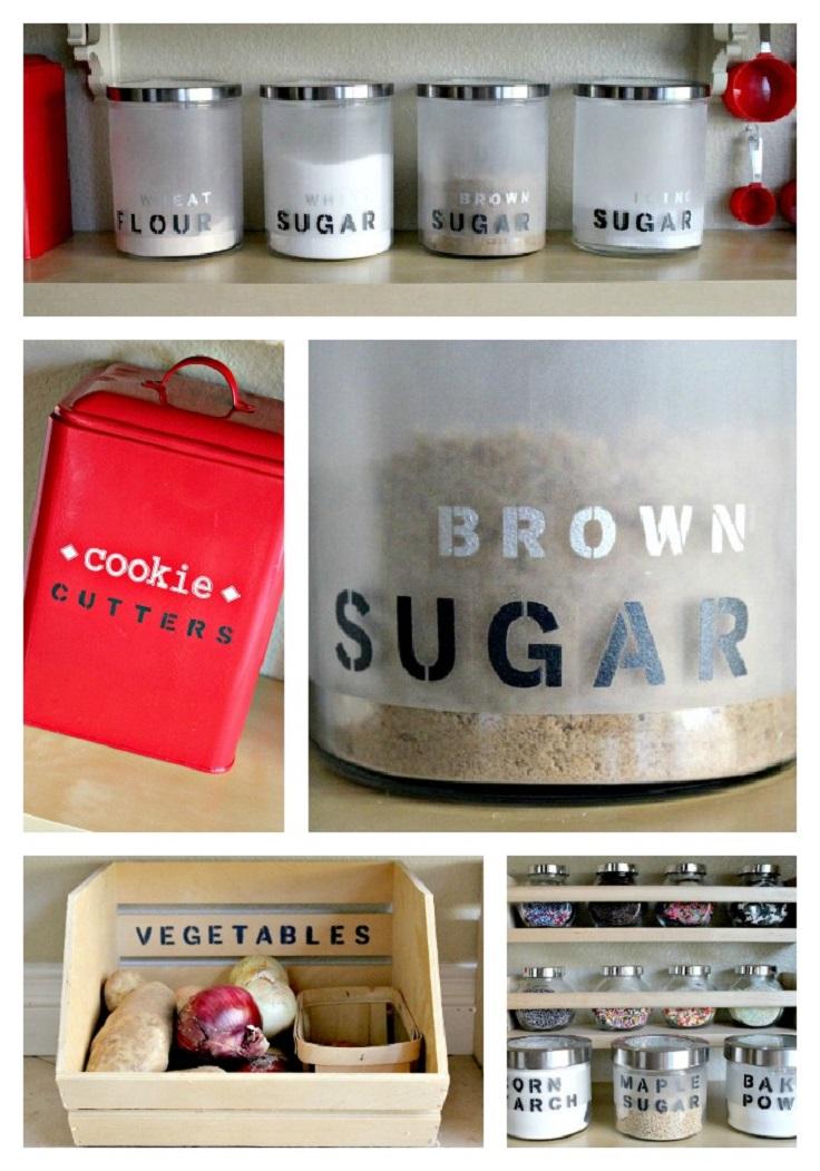 Top 10 awesome diy kitchen organization ideas top inspired for Diy kitchen storage