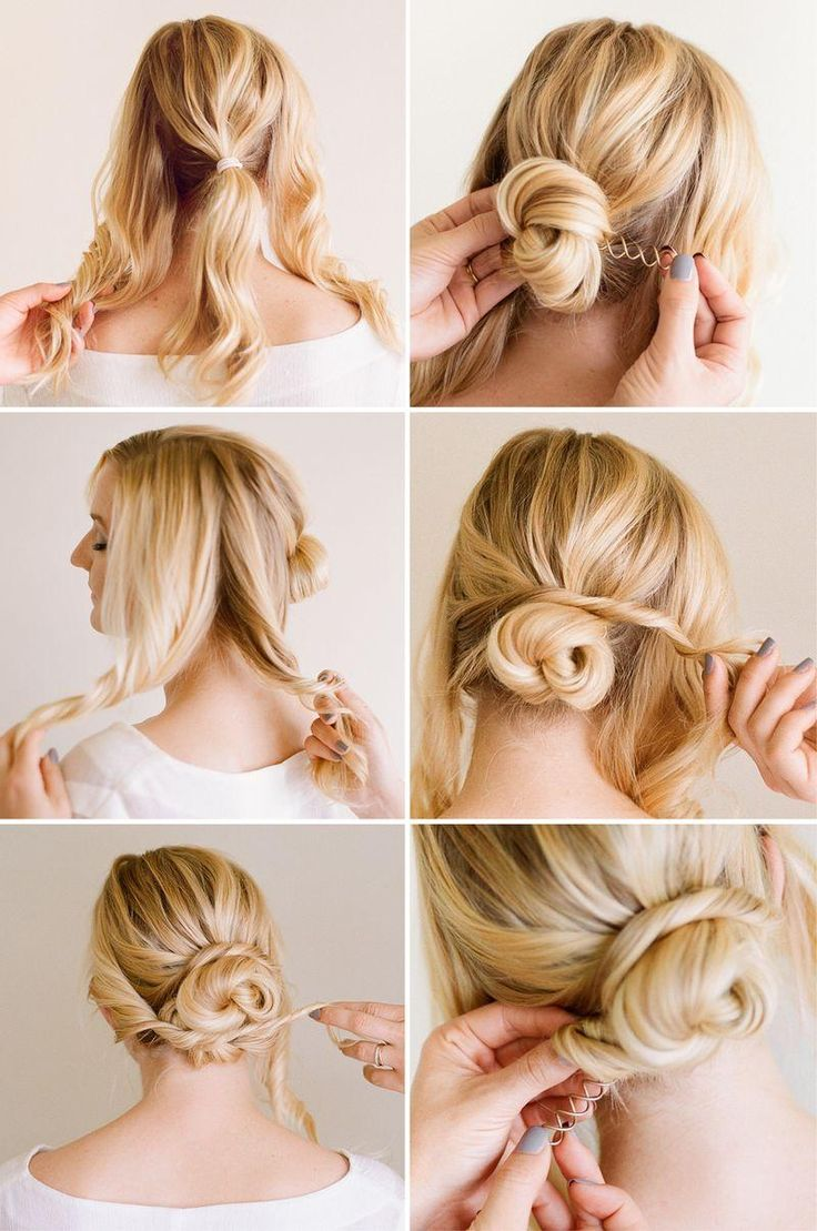 Easy & Fun Updo - Tutorial