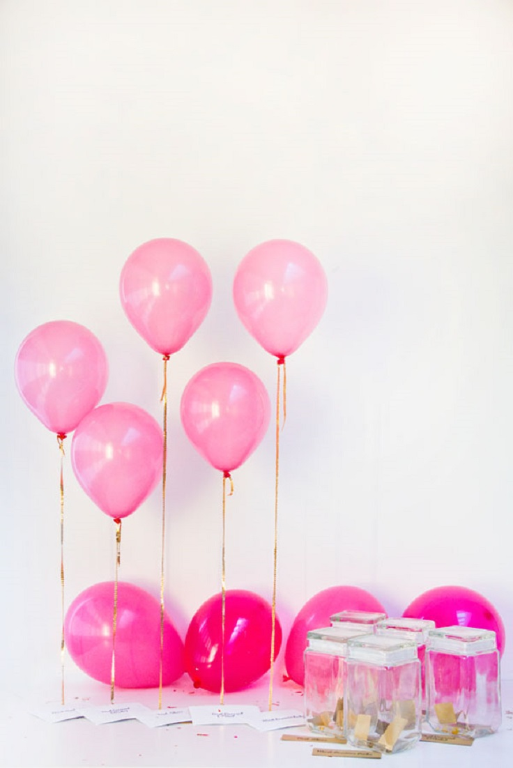 Top 10 diy balloon decorations top inspired for Home decorations with balloons