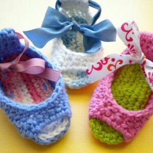 Top 10 DIY Crochet Baby Shoes | Top Inspired