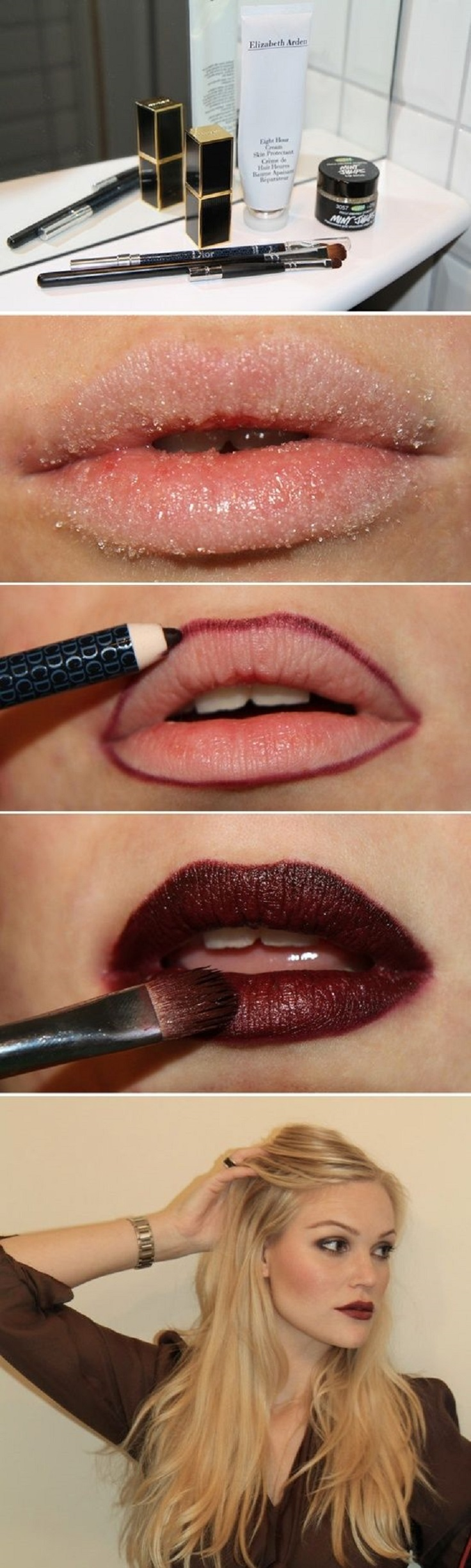 Top 10 Tutorials For Perfect Lipstick Top Inspired