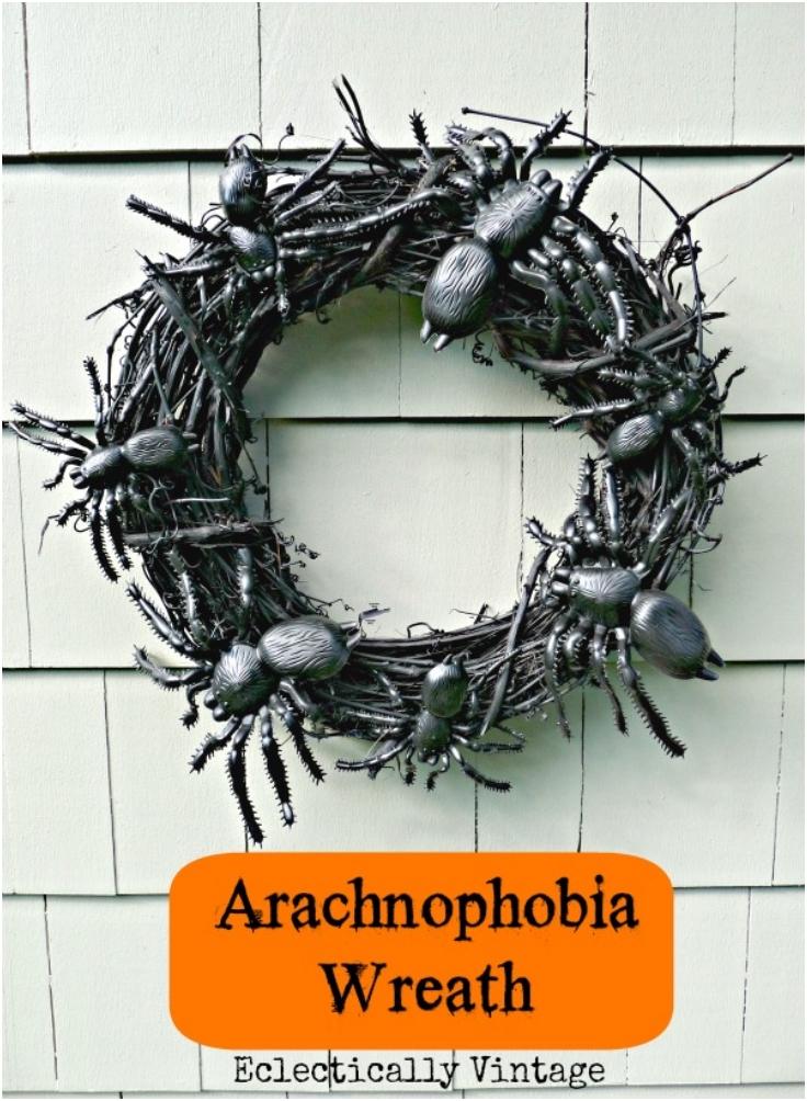 Arachnophobia-Spooky-Spider-Wreath