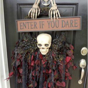 Top 10 DIY Scary Halloween Wreaths | Top Inspired