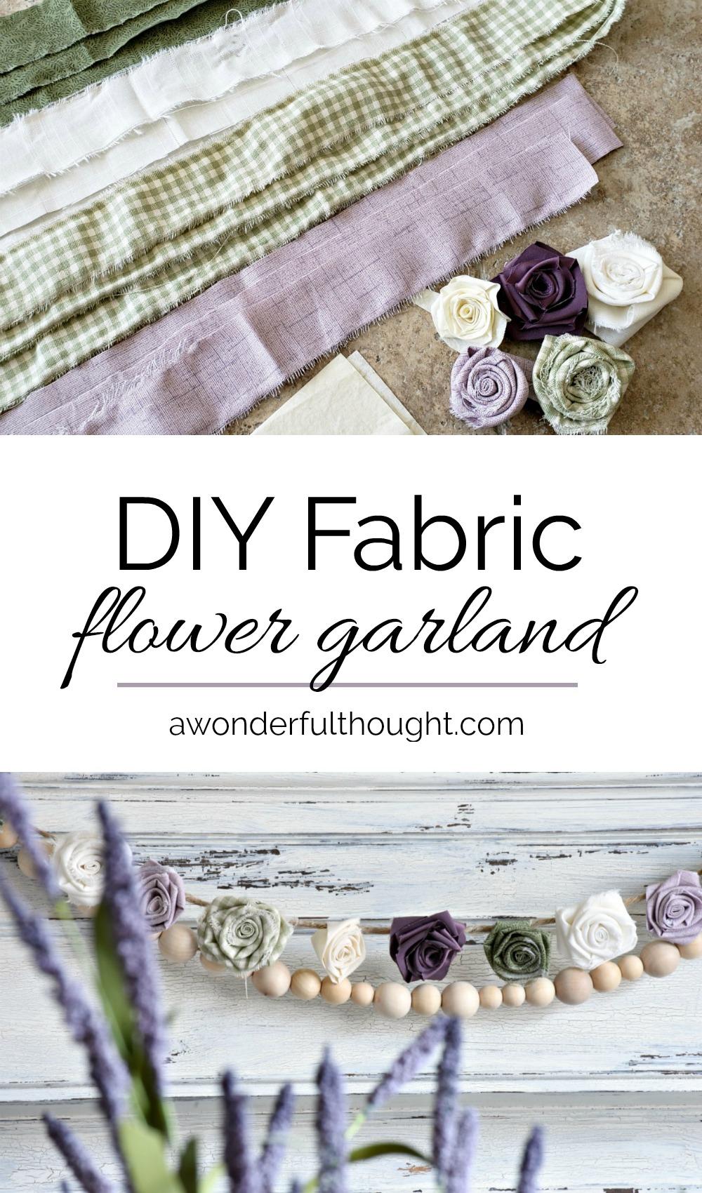 DIY-Fabric-Flower-Garland
