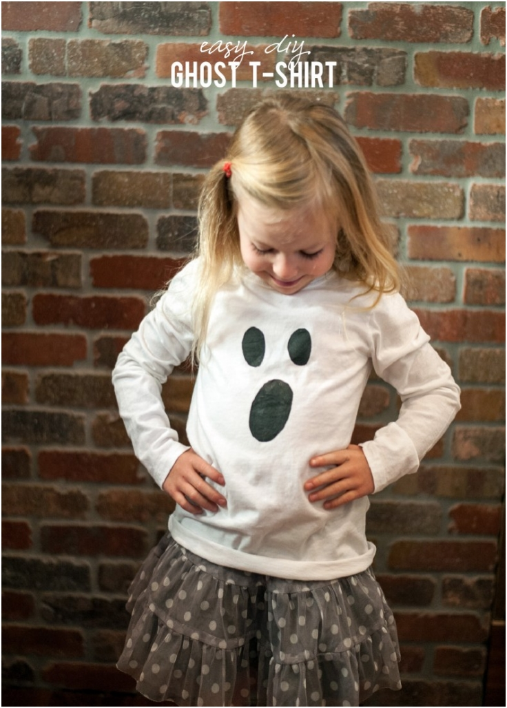DIY-Project-Easy-Ghost-T-Shirt
