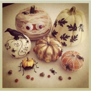 Top 10 Halloween Pumpkins Without Carving | Top Inspired