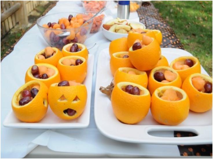 Top 10 fruit and veggie halloween treats for kids top for Halloween food ideas for preschoolers