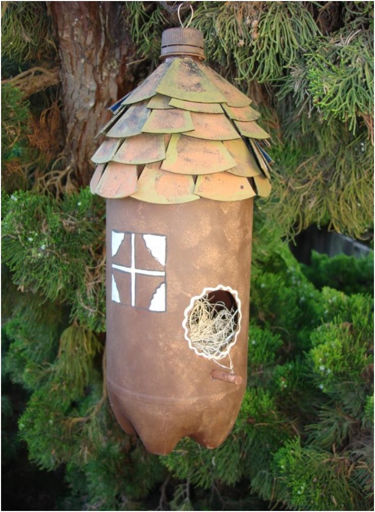 Plastic-Bottle-Bird-House-by-EcoHeidi-Borchers