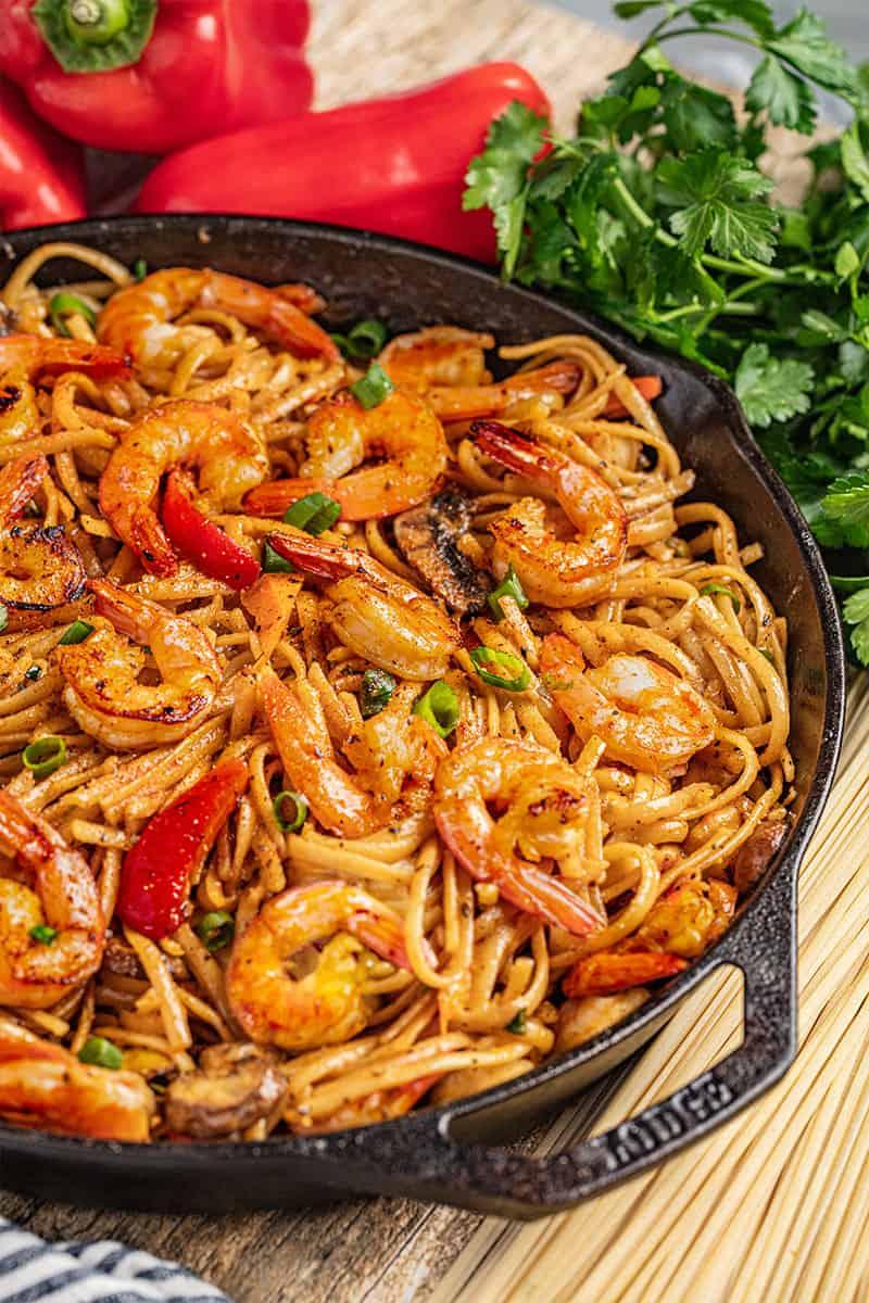Spicy-Cajun-Shrimp-Pasta-15
