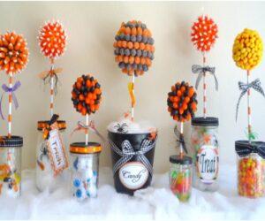 Top 10 DIY Halloween Topiaries