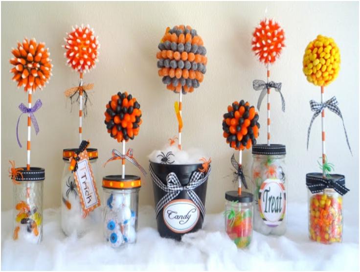 Top 10 DIY Halloween Topiaries | Top Inspired