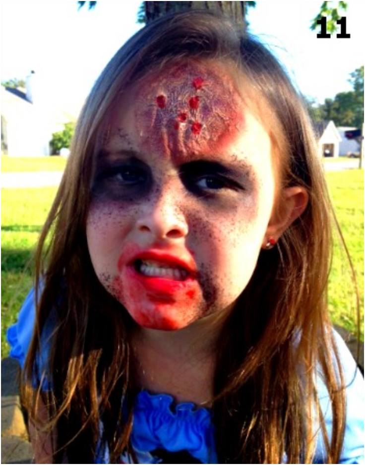 Zombie Makeup For Kids