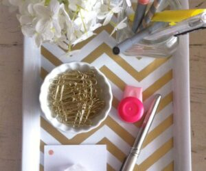 Top 10 Easy and Creative DIY Desk Trays