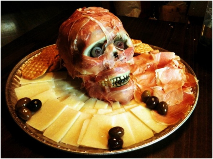 how to make a meat head - Halloween Meat Recipes