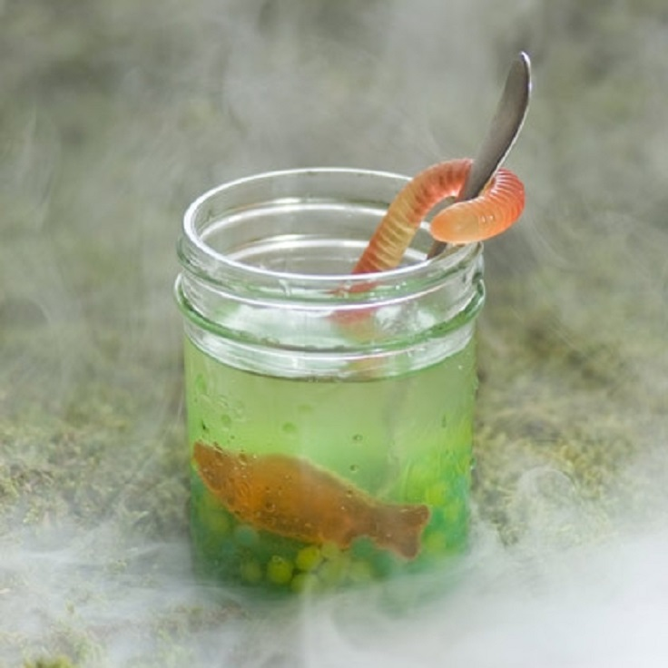 Top 10 halloween drinks for kids top inspired for Halloween green punch recipes alcoholic