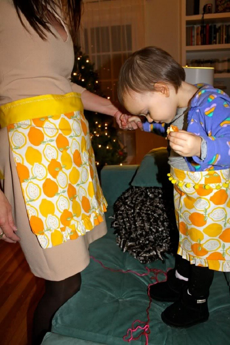 Top 10 Adorable DIY Aprons