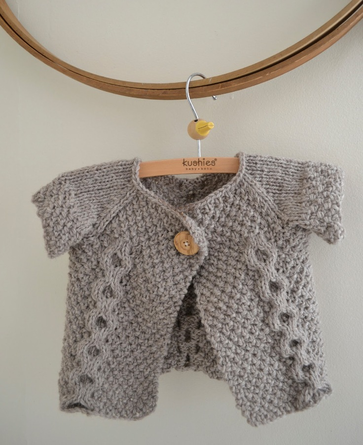 Free Knitting Pattern Baby Cable Cardigan : Top 10 Amazing Knitting Patterns