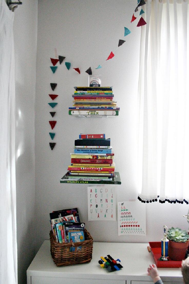 Top 10 Best DIY Bookshef Ideas