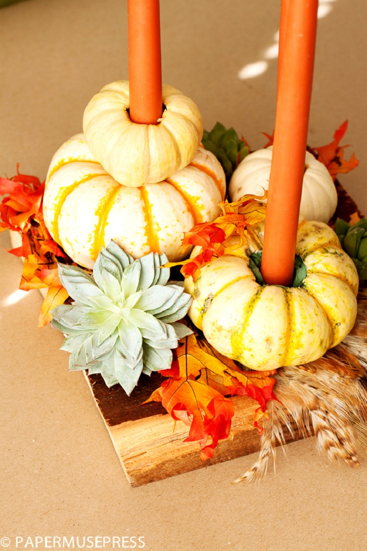 Top 10 creative diy thanksgiving decorations Thanksgiving table decorations homemade
