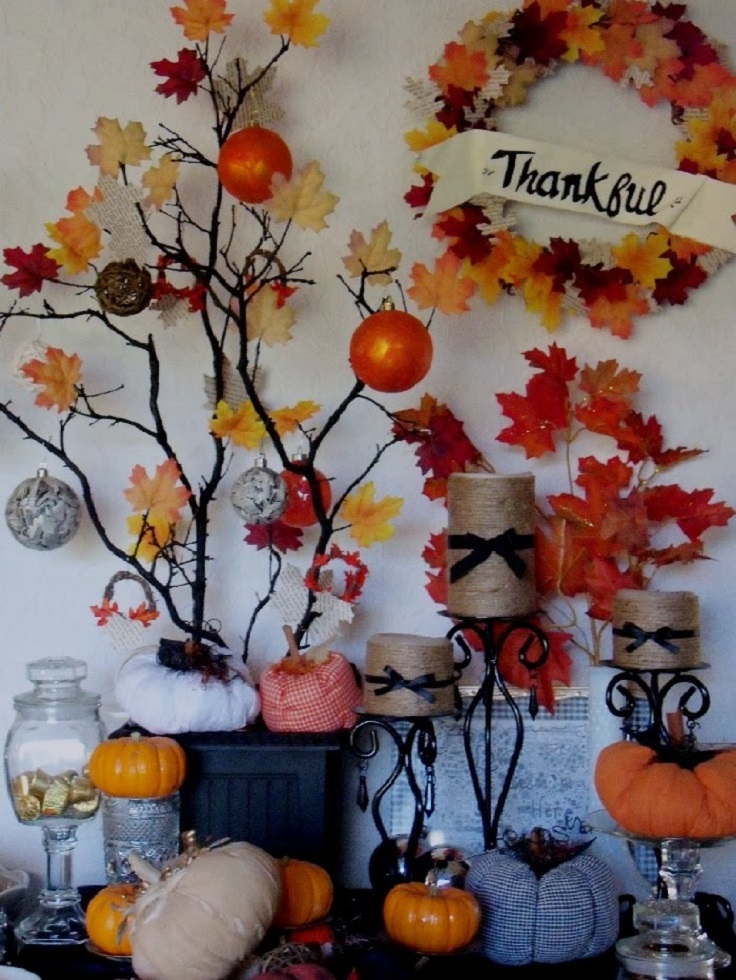 Do It Yourself Home Design: Top 10 Creative DIY Thanksgiving Decorations