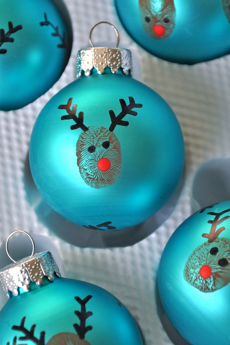 Top 10 diy christmas ornaments for Homemade christmas ornaments to make
