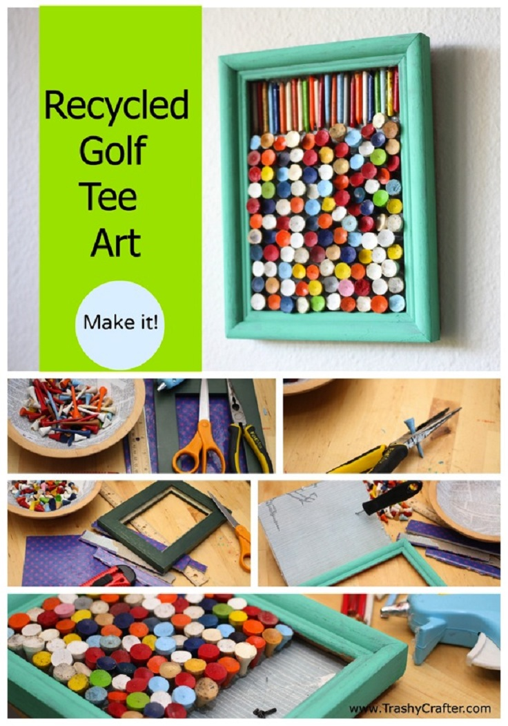 Top 10 diy recycled art projects for Art and craft ideas for room decoration